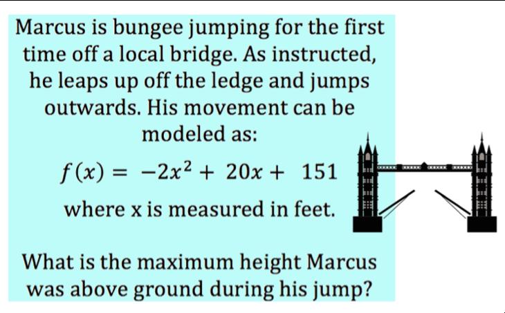 Quadratic Vertex Word Problems - Expii